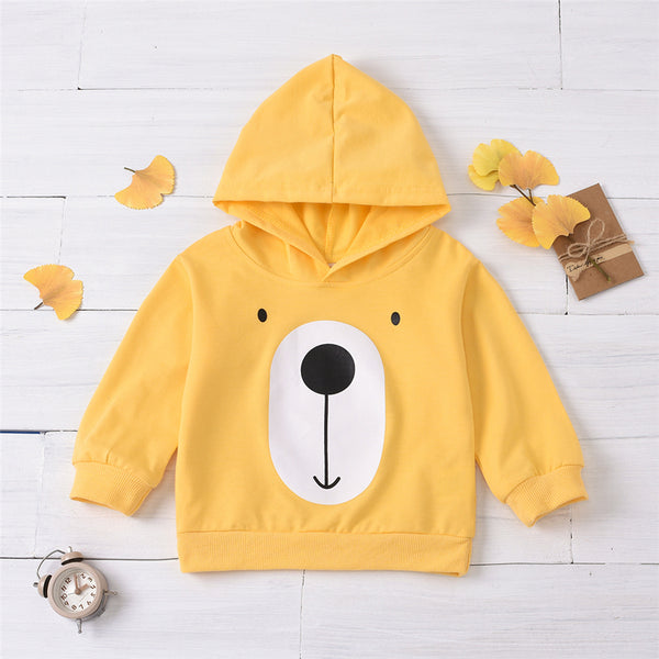 Boys Cartoon Puppy Printed Long Sleeve Top Boy Wholesale Clothing