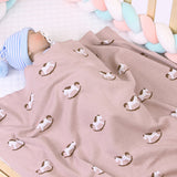 Baby Cartoon Trojan Printed Solid Blankets Wholesale Baby Blanket