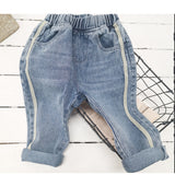 Boys Casual Solid Denim Pants Wholesale Boys Clothing Suppliers