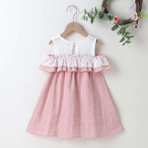 Children'S Clothing Summer Girls Lovely Dress Trendy Kids Wholesale Clothing