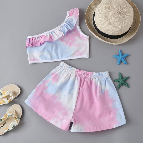 Children'S Fashion Style Sports And Leisure Two-Piece Suit Trendy Kids Wholesale Clothing