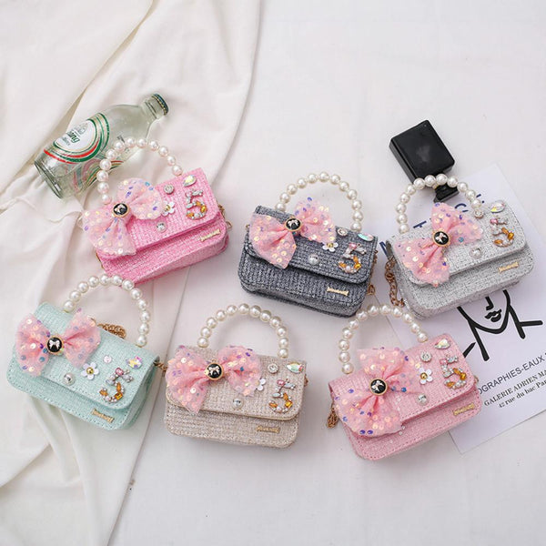 Children's One-shoulder Princess Girls Cute Bags Children's Bags Wholesale
