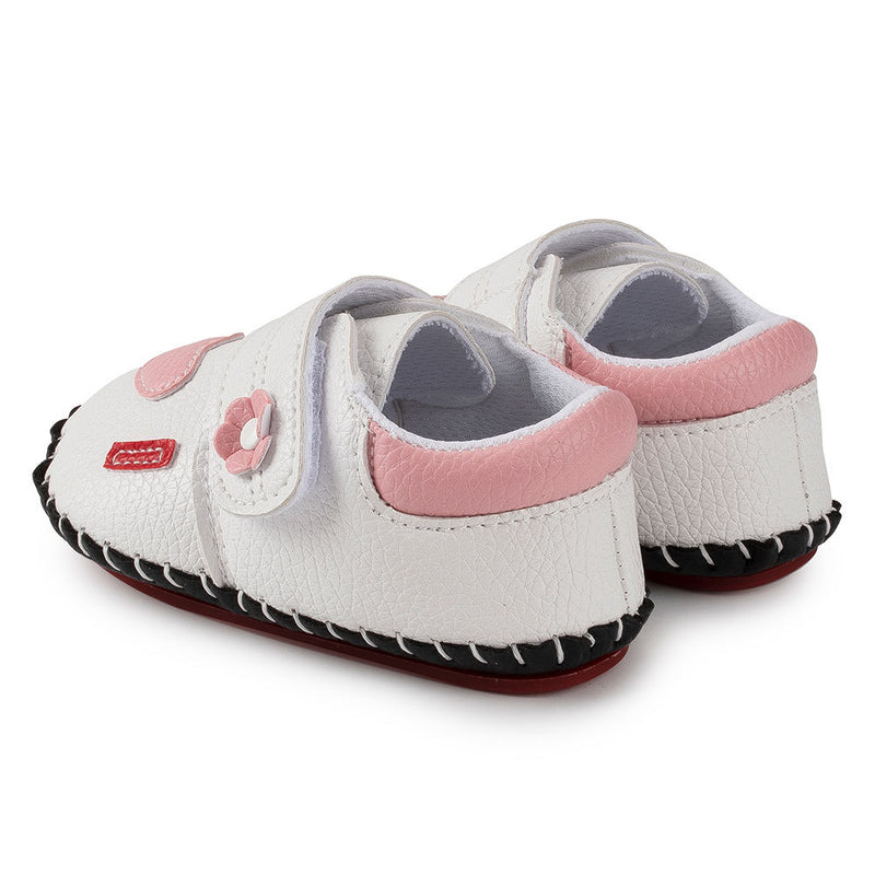 Baby Girls Comfy Magic Tape Toddler Flat Shoes