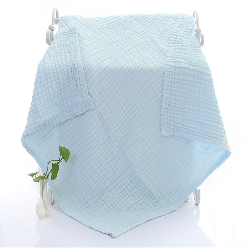 Baby Cotton Solid Color Six-layers Blanket Bulk Baby Blankets