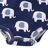 Baby Elephant Long Sleeve Casual Rompers
