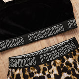 Girls Fashion Printed Sling Top & Leopard Shorts Bulk Childrens Clothing Suppliers