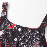 Girls Floral Printed Tank Top & Shorts Trendy Kids Wholesale Clothing
