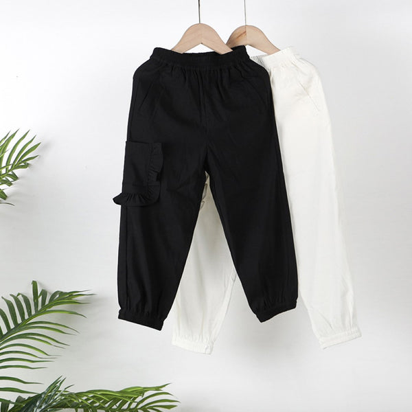 Girls Casual Solid Color Pants Girls Clothing Wholesalers