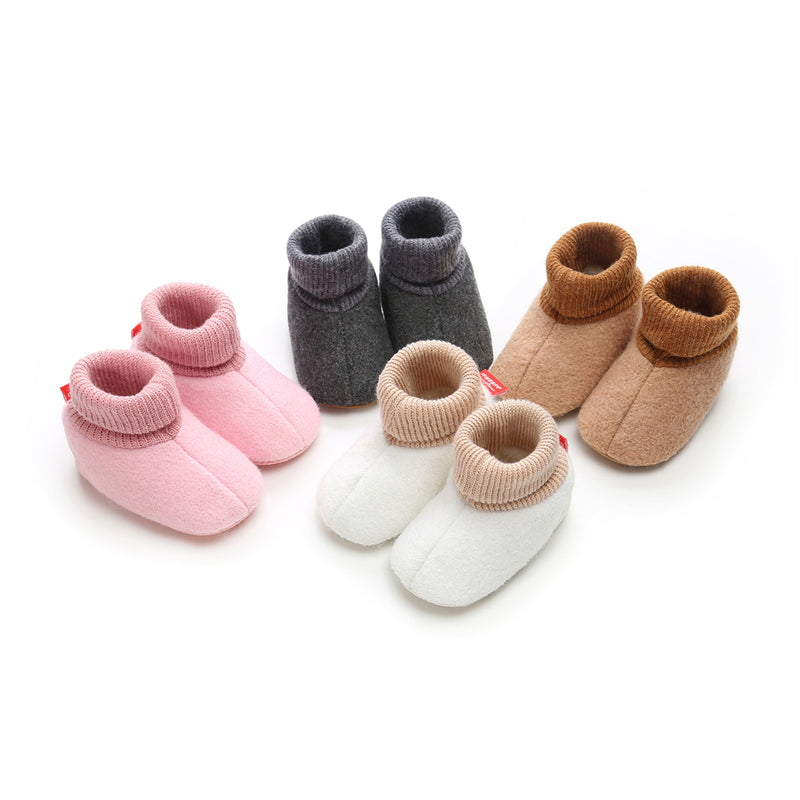 Baby High Tube Soft Soled Foldable Snow Boots Wholesale Kid Shoes