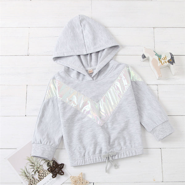 Girls Hooded Long Sleeve Casual Jumper Girls Clothing Wholesalers