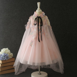 Girls Party Dresses Trailing Dresses Girls Wedding Dresses With Veil