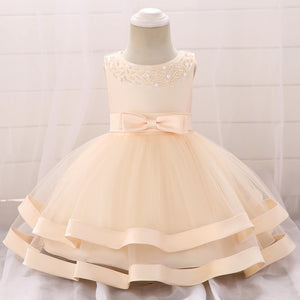 Baby Girl Dress Lovely Princess Dress Beaded Tulle Dress