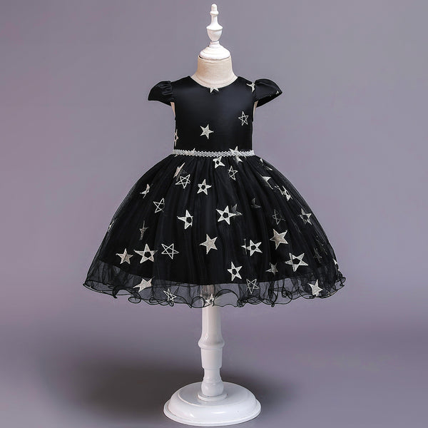 Christmas Girl Princess Mesh Tutu Dress