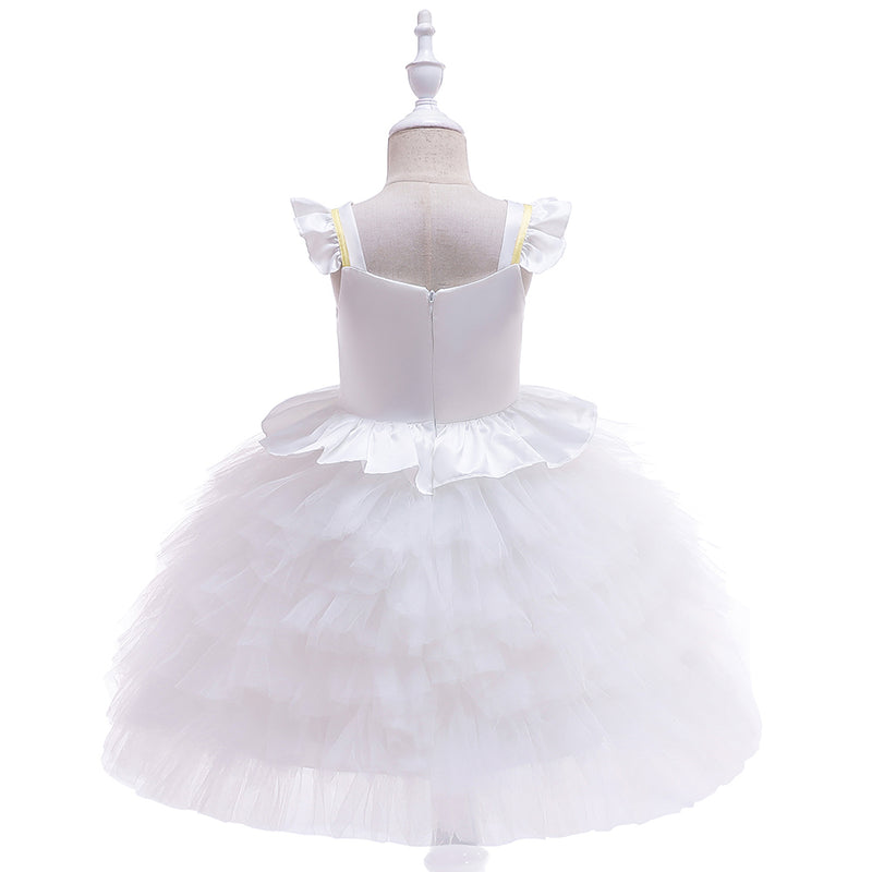 Unicorn Princess Tutu Flower Girl Wedding Dress