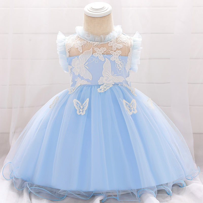 Baby Girl Embroidered Princess Dress
