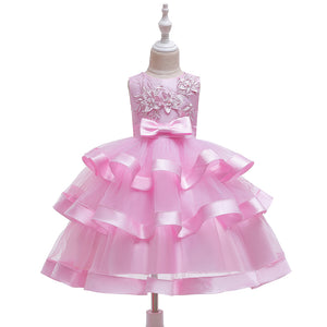 Girl's Prom Dress Tutu Skirt Girl Princess Dress