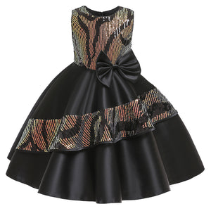 Girl Prom Dress Princess Dress Girl Dress Sequined Dress