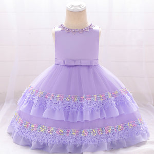 Toddler Girl Dress Lace Princess Dress Tutu Flower Girl Dress