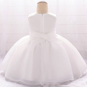 Baby Girl Dress Flower Princess Dress Spliced Dress Performance Dress