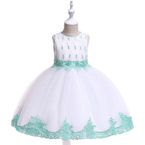 Girl Prom Dress Beaded Tutu Princess Dresses Catwalk Dresses