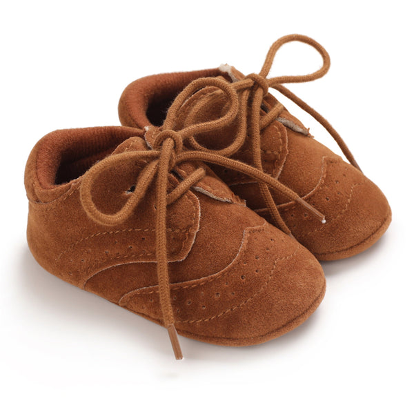 Baby Unisex Lace-up Casual Flats Baby Shoes Wholesale