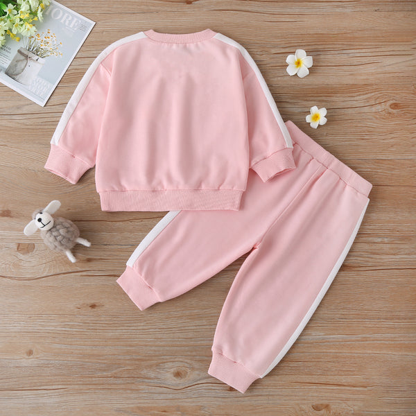 Baby Girls Letter Printed Long Sleeve Top & Pants Buy Baby Clothes Wholesale