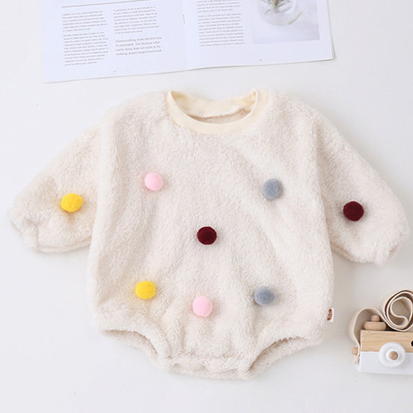 Baby Girls Long Sleeve Casual Romper Bulk Baby Clothes Online