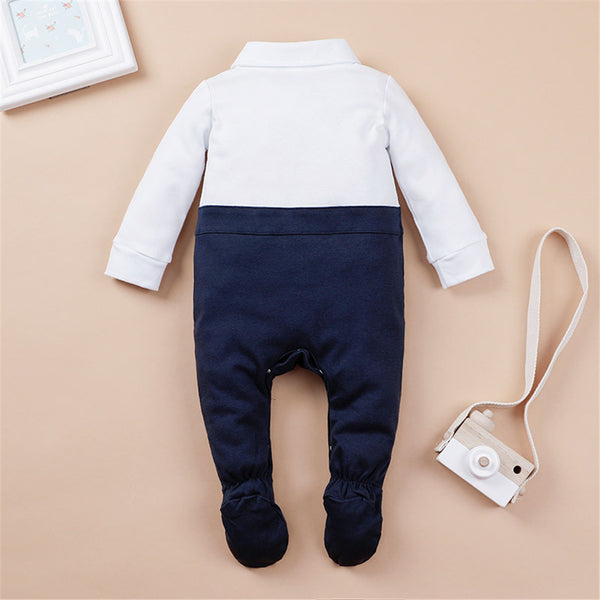 Baby Boys Long Sleeve Newborn Romper Wholesale Baby Clothes In Bulk