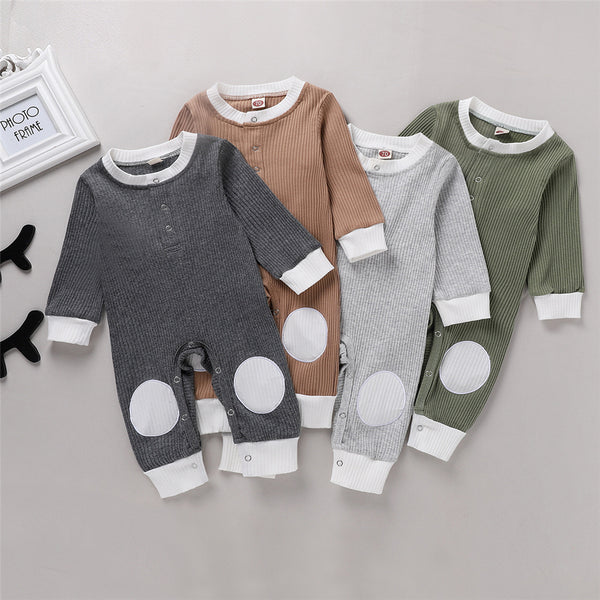 Baby Unisex Long Sleeve Romper Cheap Baby Clothes Wholesale