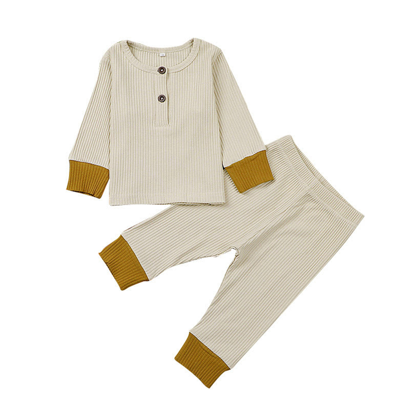 Baby Girls Long Sleeve Top & Pants Girl Boutique Clothing Wholesale