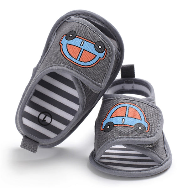 Baby Canvas Magic Tape Cartoon Cartoon Sandals Wholesale Toddler Shoes