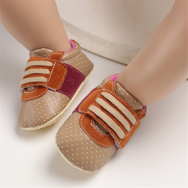 Baby Unisex Magic Tape Soft Infant Shoes Wholesale Shoes For Kids