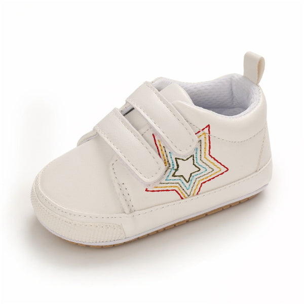 Baby Unisex Magic Tape Star Sneakers Wholesale Kids Shoes