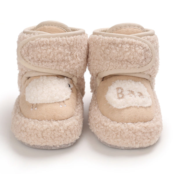 Baby Unisex Magic Tape Warm Snow Boots Wholesale Baby Shoes Suppliers