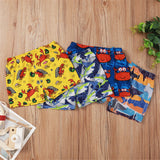 Boys Marine Animal Printed Elastic Waist Shorts Wholesale Boys Clothing Suppliers