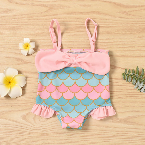 Baby Girls Mermaid Sling Swimwear Plus Size Swimwear Wholesale