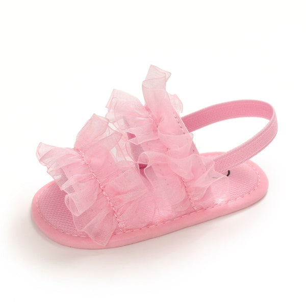 Baby Girls Mesh Solid Fashion Sandals Wholesale Shoes For Kids