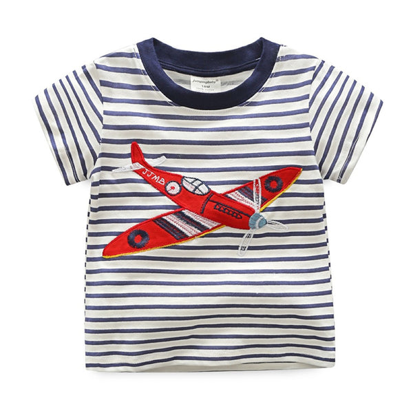 Boys New Style Summer Short Sleeve Boys'  T-Shirt Toddler Boy T-Shirts