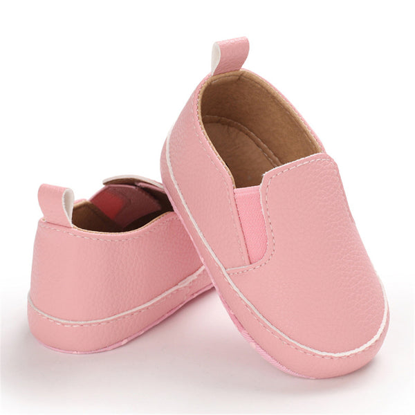 Baby Girls Non-slip Toddler Solid Slip On Sneakers