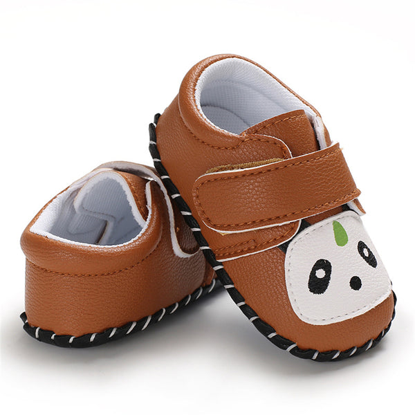 Baby Unisex Panda Cute Non-Slip Flats Wholesale Baby Shoes Suppliers