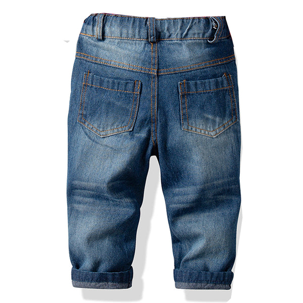 Toddler Boys Pocket Casual Jeans Boy Kids Wholesale Clothing