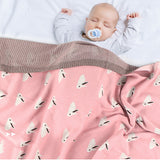 Baby Rabbit Cartton Casual Cute Baby Blankets