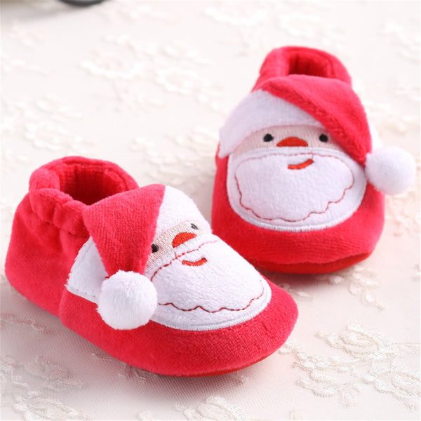 Baby Girls Santa Clous Christmas Casual Shoes