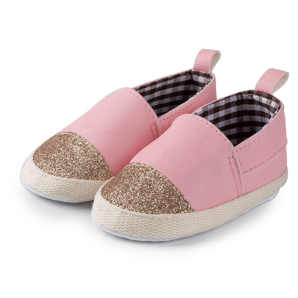 Baby Girls Sequin Slip On Non-Slip Flats Wholesale Childrens Shoes