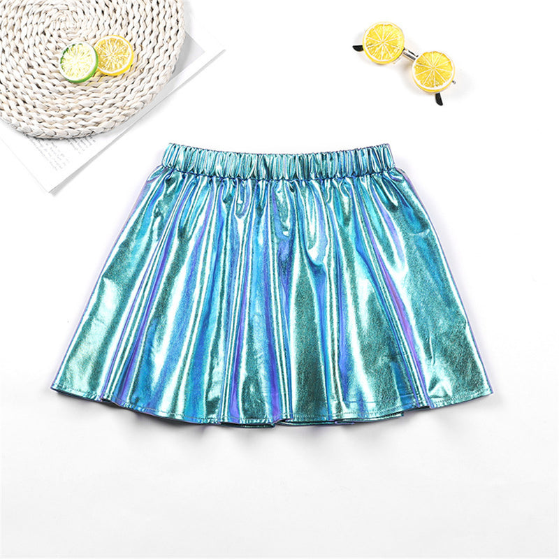 Girls Shiny Summer Dance Skirt Girl Boutique Clothing Wholesale