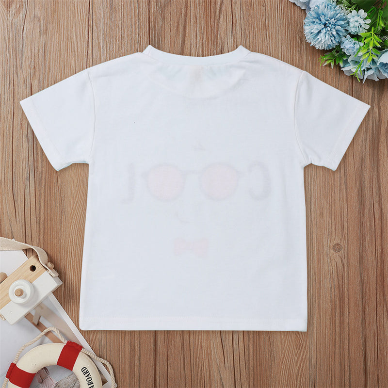 Unisex Short Sleeve Cool T-shirt Kids Wholesale Clothing