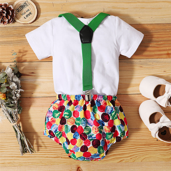 Baby Boys Short Sleeve Romper & Overalls baby clothes wholesale distributors