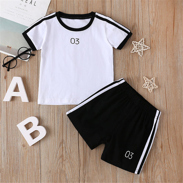 Unisex Short Sleeve Top & Shorts wholesale kids clothing
