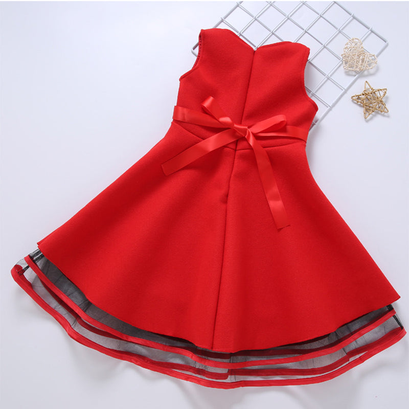 Girls Sleeveless Flower Dress Children Clothing Wholesale Usa