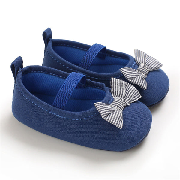 Girls Slip Ons Bow Flats Wholesale Baby Shoes